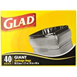 Glad Giant Outdoor Garbage Bags 178 L 40 Count