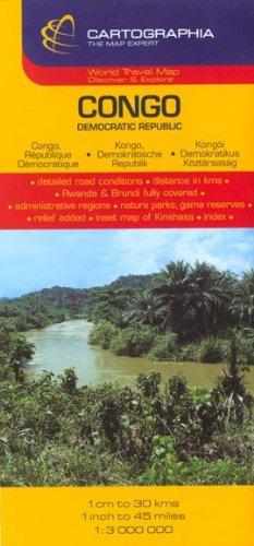 Congo : Democratic Republic (Country Map)