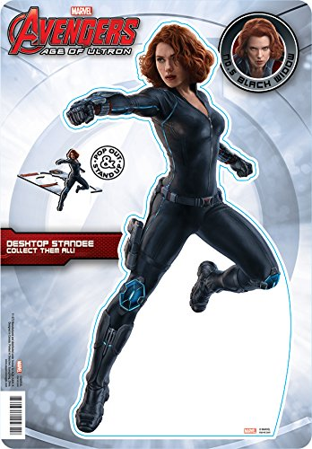 Aquarius Avengers 2 Black Widow Desktop Standee - 1