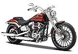 マイスト Maisto 1/12 ハーレー ダビッドソン Harley Davidson 2014 CVO BREAKOUT Motorcycle オートバイ バイク Bike Model 32327 ブレイクアウト レッド [並行輸入品]
