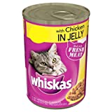 WHISKAS® Can in Jelly with Chicken 390g (Pack of 12)