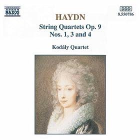 Haydn: String Quartets, Op. 9, Nos. 1, 3 And 4