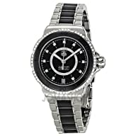 Tag Heuer Formula 1 Diamond Accented Black Ceramic Ladies Watch WAU2212BA0859