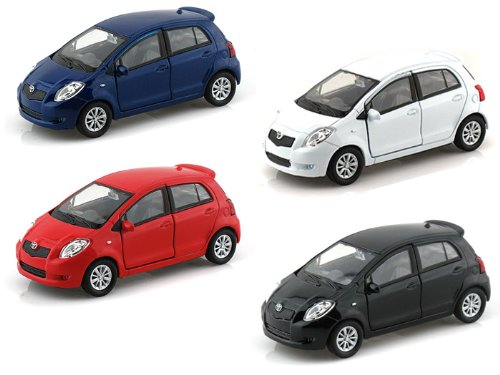 Set of 4 - Toyota Yaris 1/38