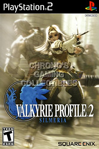 CGC Huge Poster - Valkyrie Profile 2 Silmeria - BOX ART Sony Plastation 2 PS2 - PS2375 (24