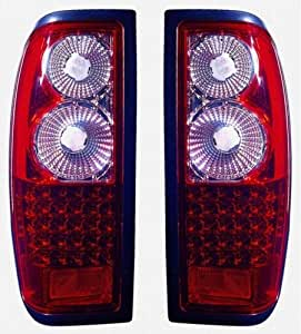 Amazon Com 1998 2004 Nissan Frontier Tail Lights Led