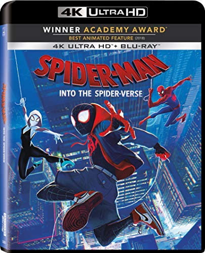 4K Blu-ray : Spider-man: Into The Spider-verse (2 Discos)