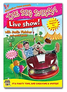Justin Fletcher - The Big Party Live Show [DVD]