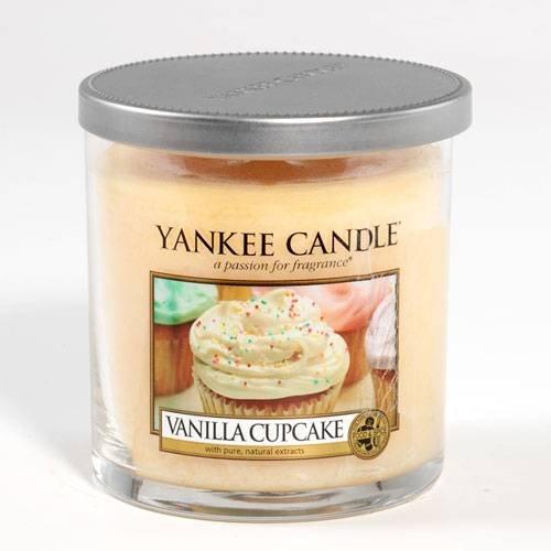 Yankee Candle Vanilla Cupcake Small Tumbler 7oz Candle