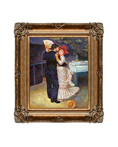 Pierre Auguste Renoir's Dance In The Country Framed Hand Painted Oil On Canvas