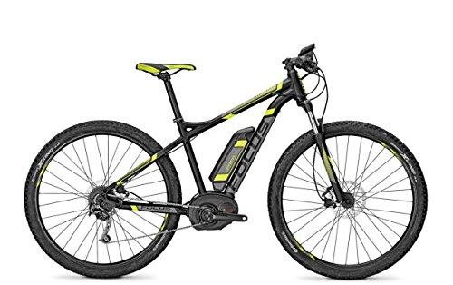 E-Bike Focus Jarifa Bosch E-Mountainbike 9G 29' 11Ah 36V Herren in black matt div. Rh, Rahmenhöhen:42, Farben:blackm 36v/11ah