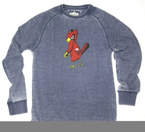 NHL Saint Louis Cardinals Micro-Thermal Knit Long Sleeve Crew T-Shirt By Red Jacket at Amazon.com