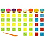 Play Doh Numbers,Letters' N Fun 35 Pieces
