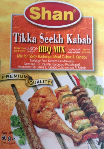 Shan Tikka Seekh Kabab BBQ Mix 50G