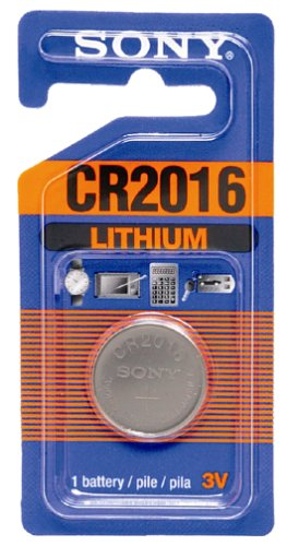 Sony Lithium Coin Battery CR2016