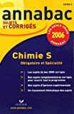 Chimie S : Enseignement obligatoire et de spcialit