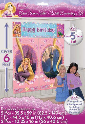 Tangled Giant Scene Setter Wall Decorating Kit (5pc)