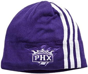 NBA Authentic Team Knit Hat - Kf10Z, Phoenix Suns, One Size, Purple white , Phoenix... by adidas