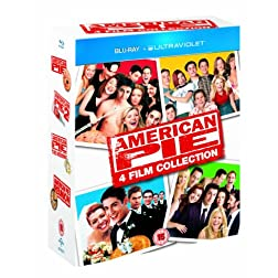 American Pie: 4 Film Collection [Blu-ray]