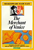 The Merchant of Venice (Shakespeare Made Easy) (0812035704) by William Shakespeare