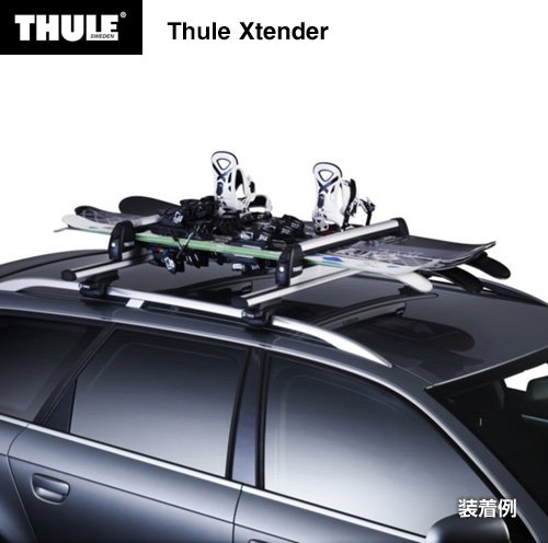 thule xtender accessoires porte ski 6 paires. Black Bedroom Furniture Sets. Home Design Ideas