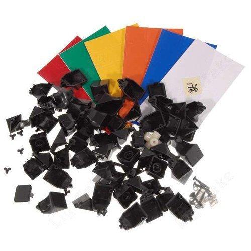 Dayan Guhong 3X3 Speed Cube Black DIY KIT - 1