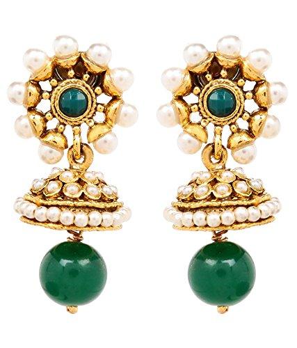 Akshim Multicolour Alloy Earrings For Women - B00NPY8TT2