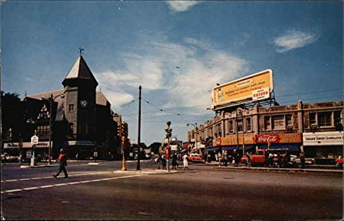 Coolidge Corner in Brookline, Massachusetts