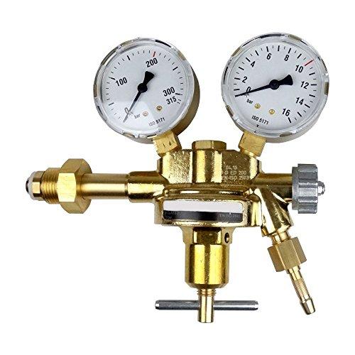 Druckminderer Druckluft 200bar Pressluft für Druckluftflasche Pressluftflasche 0-10 bar von Gase Dopp