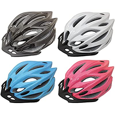PedalPro Mens/Ladies Adult Bike Helmet - Available in 4 Colours by PedalPro