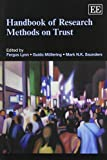 img - for Handbook of Research Methods on Trust (Elgar Original Reference) book / textbook / text book