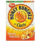 Honey Bunches of Oats Honey Roasted, 14.5-Ounce Boxes (Pack of 4)