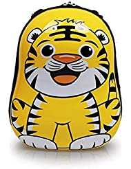 3D Cartoon Animal Tiger Backpack Schoolbag Waterproof Hard Shell