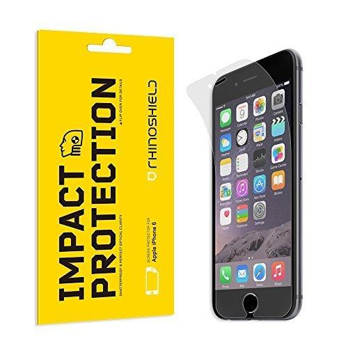 Rhino shield iPhone 6/6s impact resistant - pellicola protettiva, anti impronta, blindata, ultra resistente, trasparente, effetto vetro, protezione anti shock
