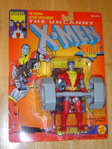 "The Uncanny X-Men COLOSSUS W/Power-Lift 5"" Action Figure (1993 ToyBiz) - 1"