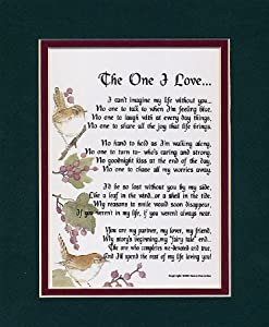 Sentimental Wedding Gift For Husband : The One I Love? A Sentimental Gift For A Wife, Husband ...