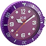 Ice-Watch - IWF.PE - Horloge Murale - Quartz Analogique - Cadran Violet - Diamètre : 28 cm