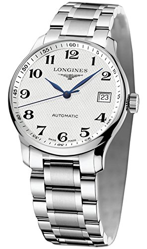 Longines Master Collection L25184786 36mm Automatic Silver Steel Bracelet & Case Synthetic Sapphire Men's Watch