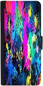Snoogg Splash Paint Jobdesigner Protective Flip Case Cover For Xiaomi Mi 3