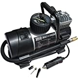 JACO RoadPro Tire Inflator Pump - Premium 12V Portable Air Compressor - 100 PSI