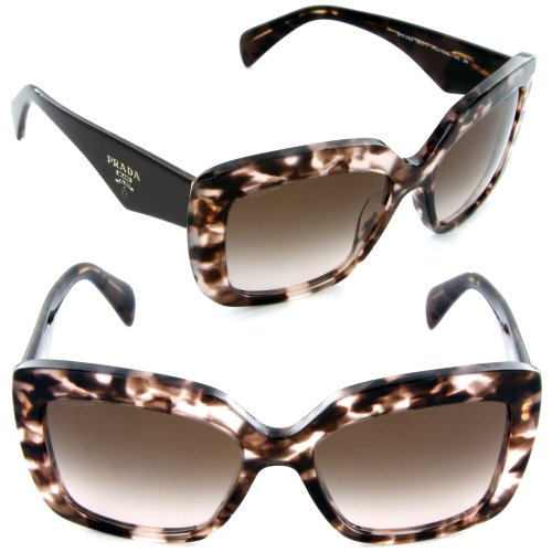 prada Prada 03QS ROJ0A6 Tortoise Brown 03QS Handbag Square Sunglasses Lens Category 2