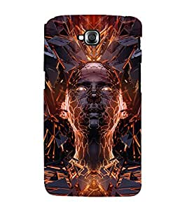 printtech 3D Abstract Person Back Case Cover for LG GPro Lite / LG G Pro Lite Dual D686