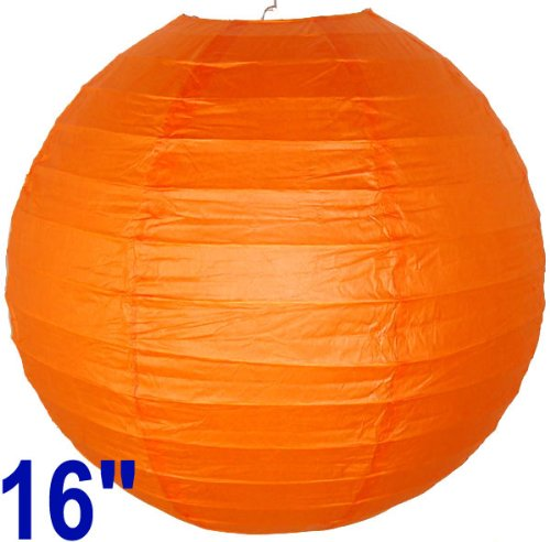 Red Orange Chinese/Japanese Paper Lantern/Lamp 16