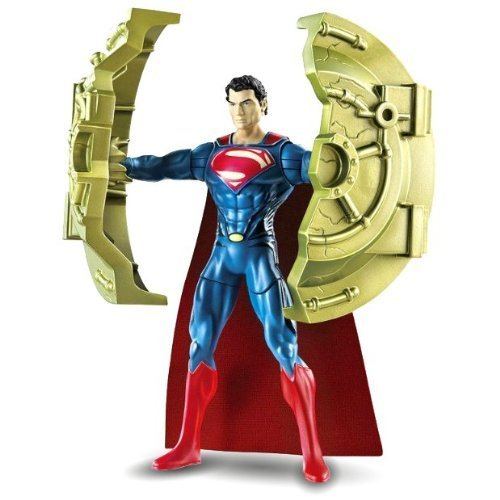 Man Of Steel Movie: Deluxe Action Figure Bashing Superman - 1