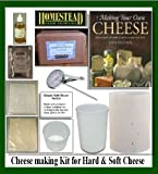 Cheese Making Kit for Soft and Hard Cheese WITH BOOK