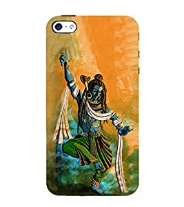 Lord Shiva 3D Hard Polycarbonate Designer Back Case Cover for Apple iPhone SE :: Apple iPhone SE