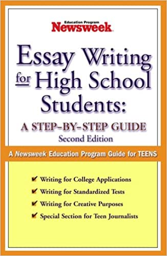 essay writing format for high school students