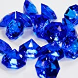 Royal Blue 25 Carat Acrylic Diamonds 36 Acrylic Gems Big Bling