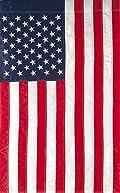 American Flag Applique Garden Flag 12