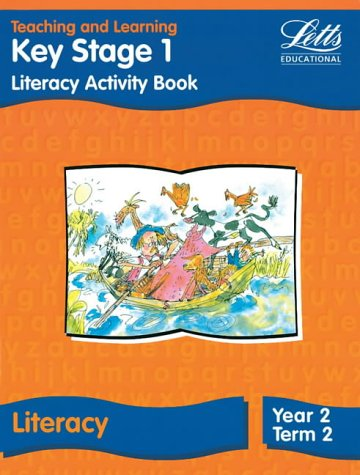 Key Stage 1 Literacy: Year 2, Term 2: Activity Book (Letts Primary Activity Books for Schools): Literacy Book - Year 2, Term 2